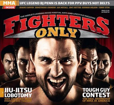 "Fighter's Only Magazine features Shihan Viola as a ""Forefather of MMA"""