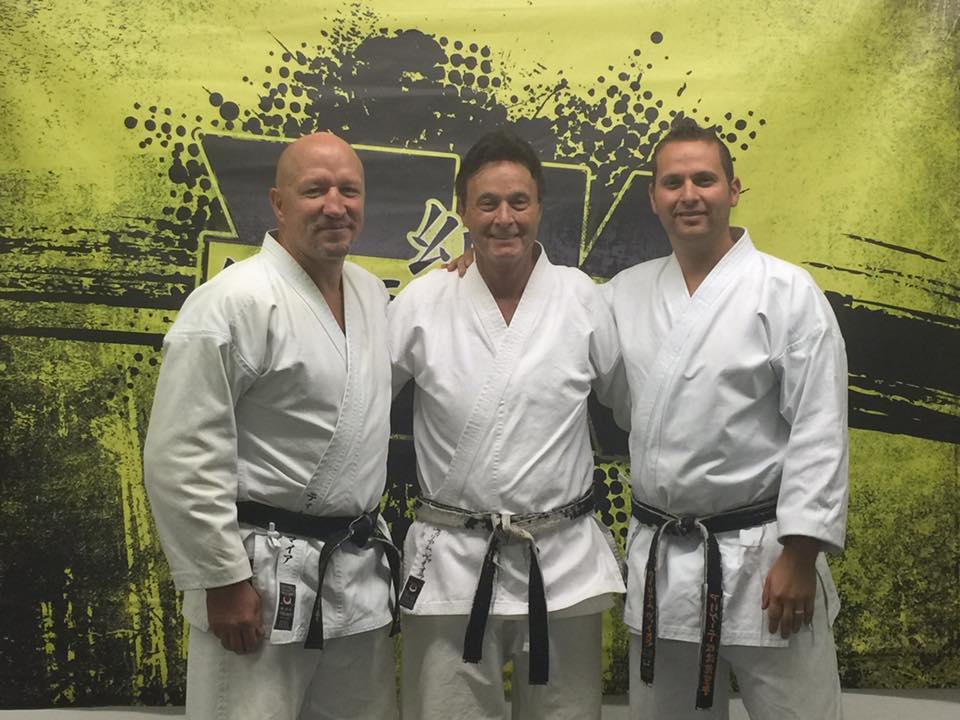 Jack Bodell, Bill Viola Sr., Bill Viola Jr.