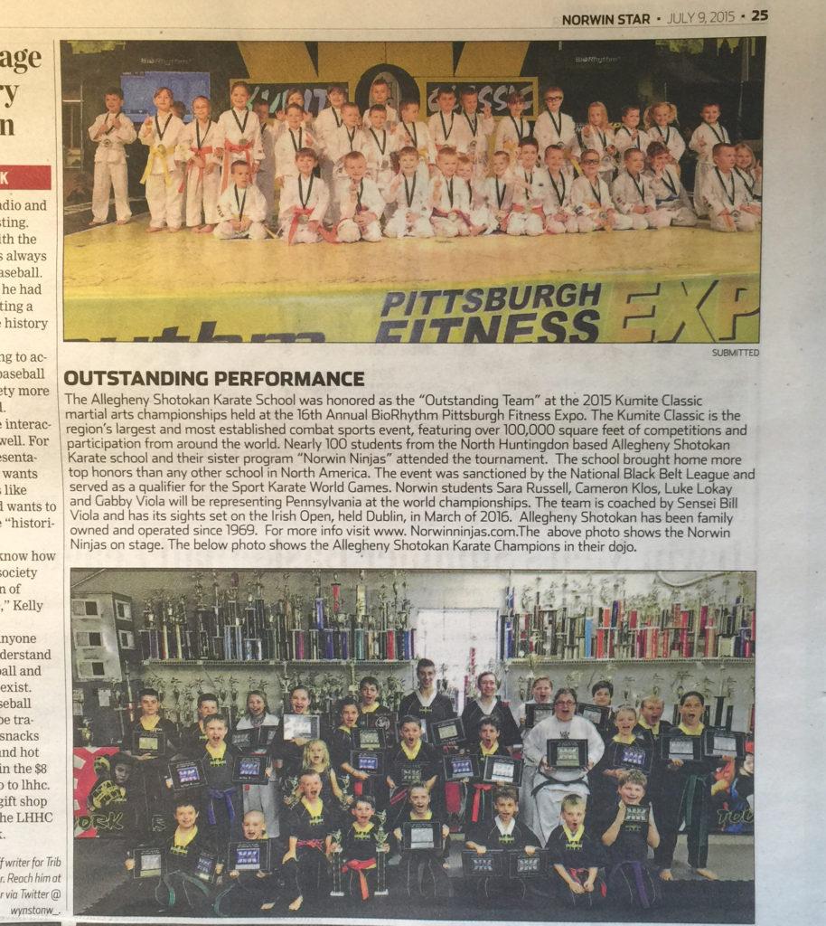 2015 Kumite Classic champs