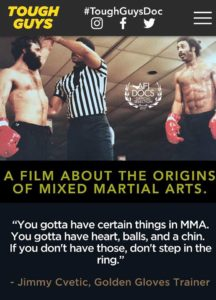 Tough Guys MMA showtime