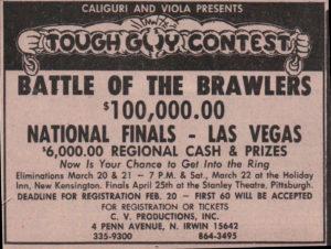 tough guys prize