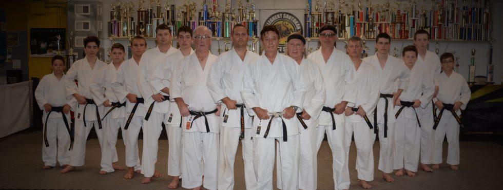 Irwin Karate class