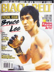 black belt magazine bruce lee