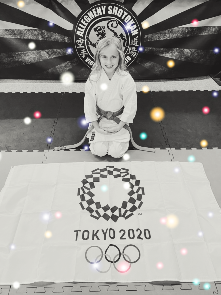 Gabby Viola dreams of Olympic karate