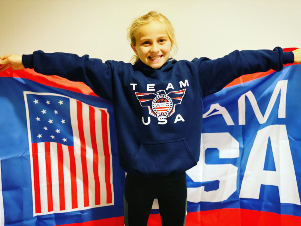 gabby viola karate team usa