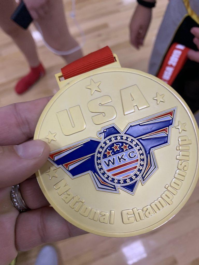 gabby gold medal